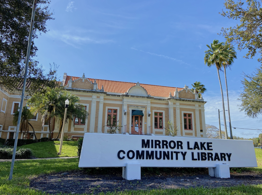 Mirror Lake Library in St. Petersburg has history you may not have read about.
