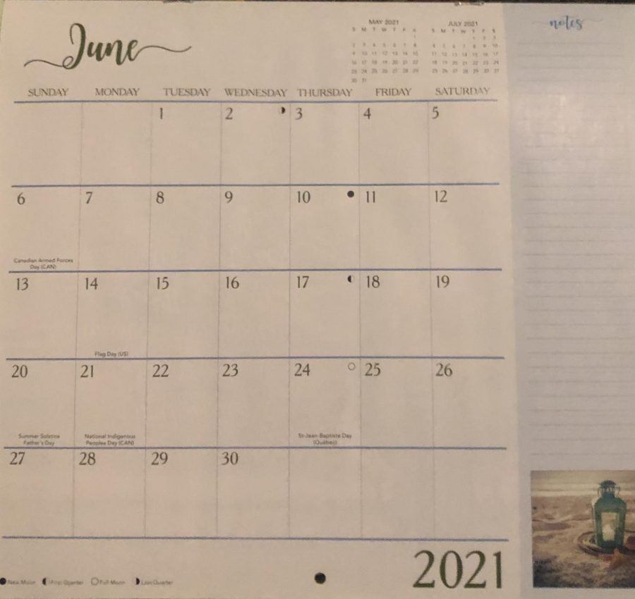 Only 7 more weeks until June 9th, the last day of the 2020-2021 school year.