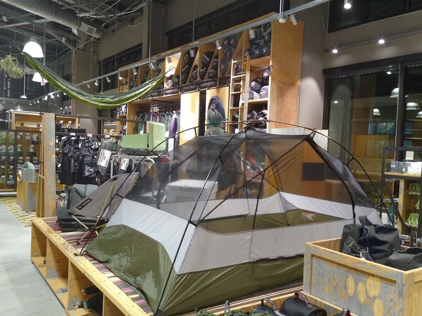 REI+has+large+supply+of+outdoor+gear+in+its+store.